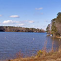 lake royale water view lot
